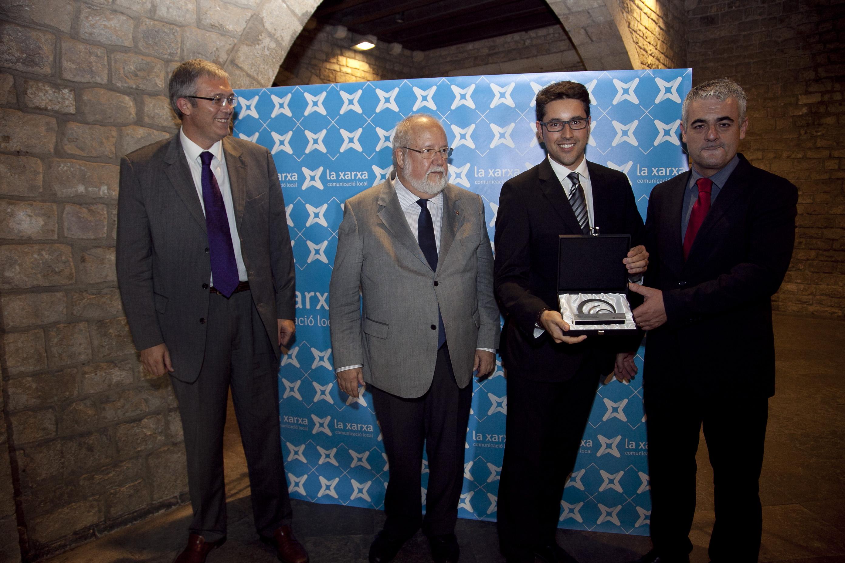 Premi Nacional de Comunicació (Octubre 2014)