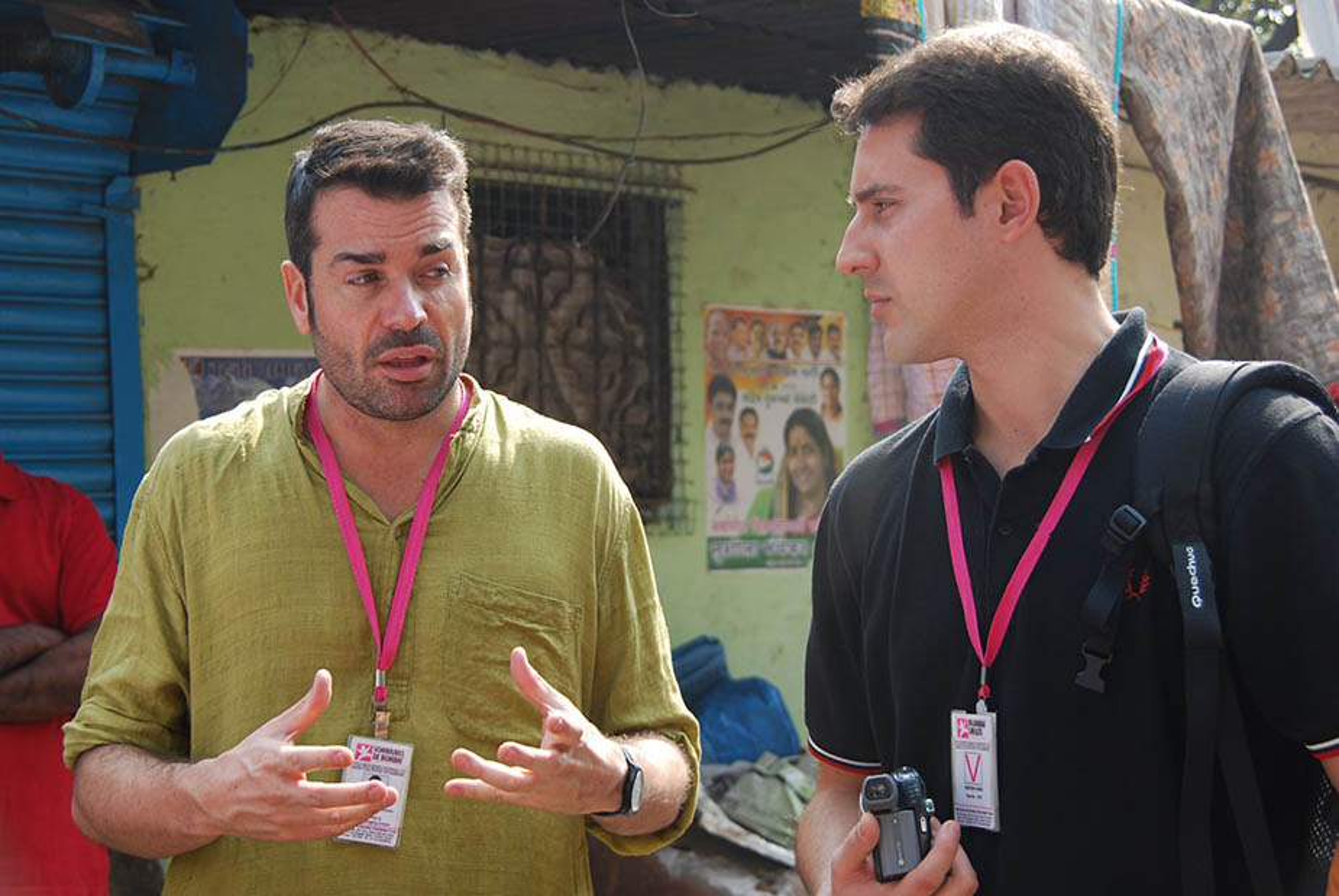 A Bombai, amb Jaume Sanllorente