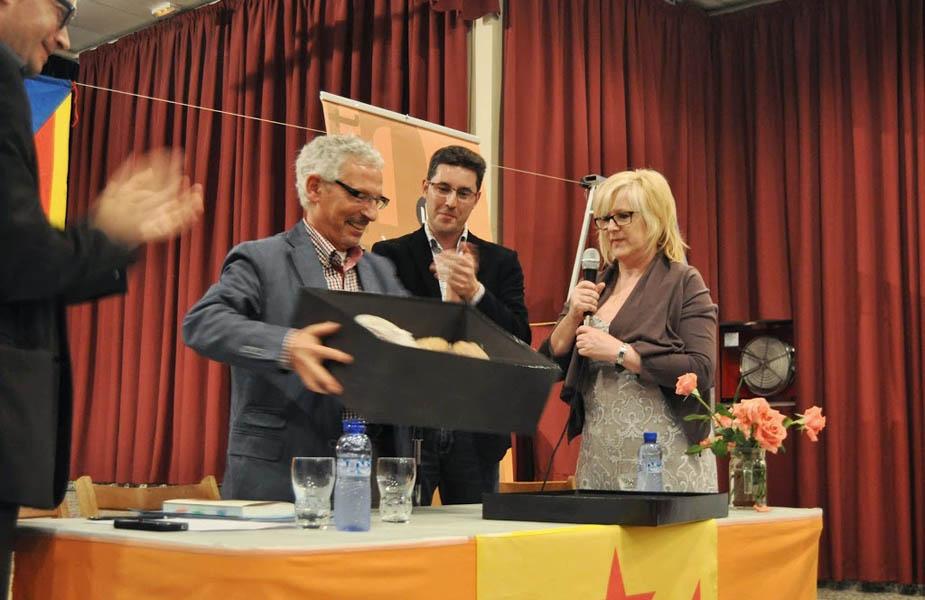 El jutge Santi Vidal (Maig 2013)