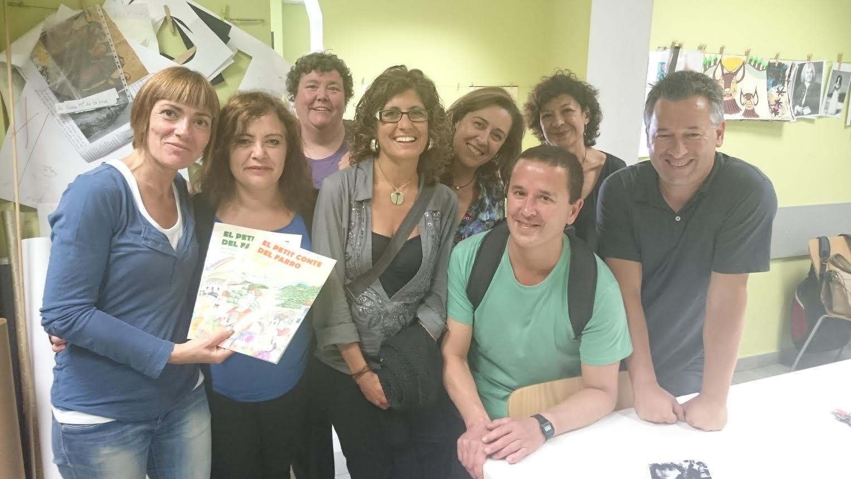 Donant suport al projecte 'Actua, tots per tots' (Maig 2015)