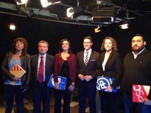 Debat electoral amb els candidats al Congrés per Girona (20-D)
