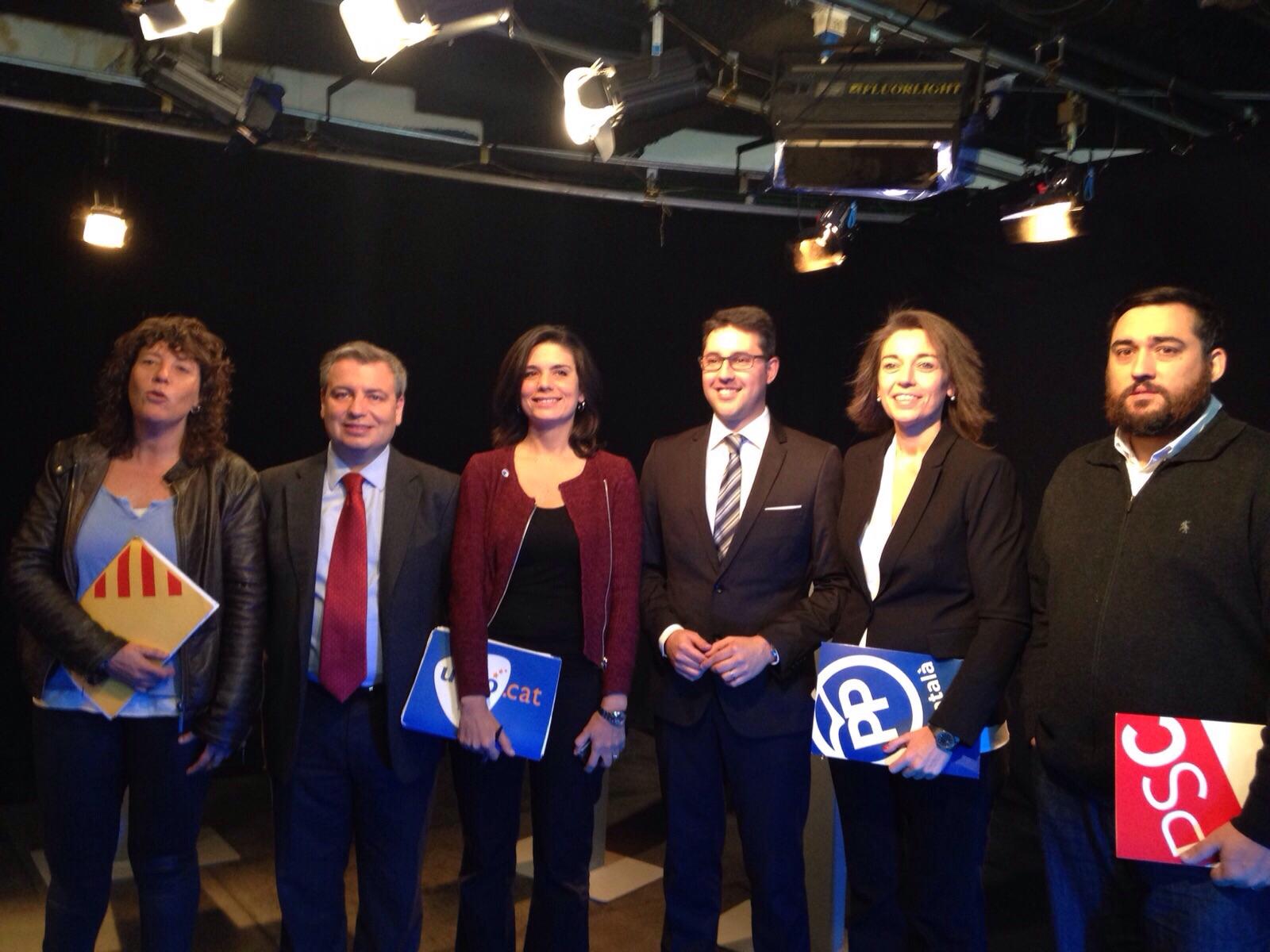Debat electoral amb els candidats al Congrés per Girona (Desembre 2015)