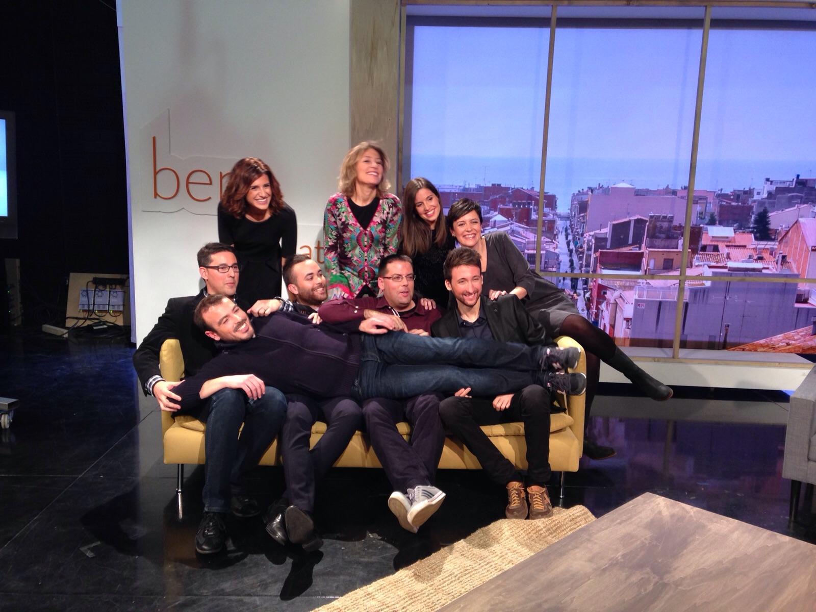 L'equip del programa 'Ben Trobats' de La Xarxa (Temporada 2015-2016)