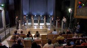 Debat electoral amb els candidats al Parlament per Girona (27-S)