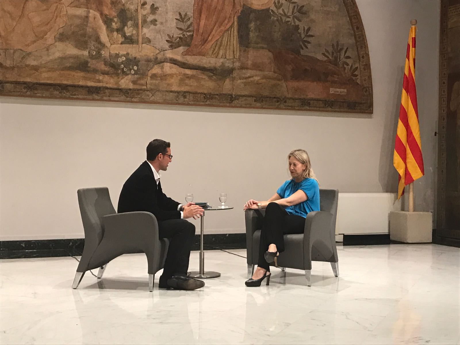 Entrevista a Neus Munté, consellera de la Presidència i portaveu del govern