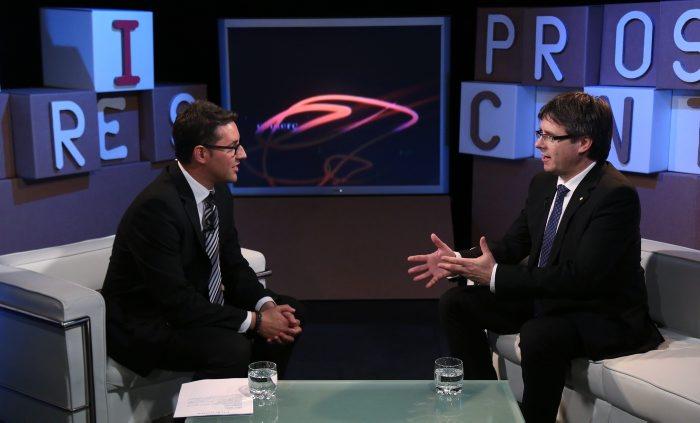 ENTREVISTA AL PRESIDENT DE LA GENERALITAT, CARLES PUIGDEMONT (4/06/2016)