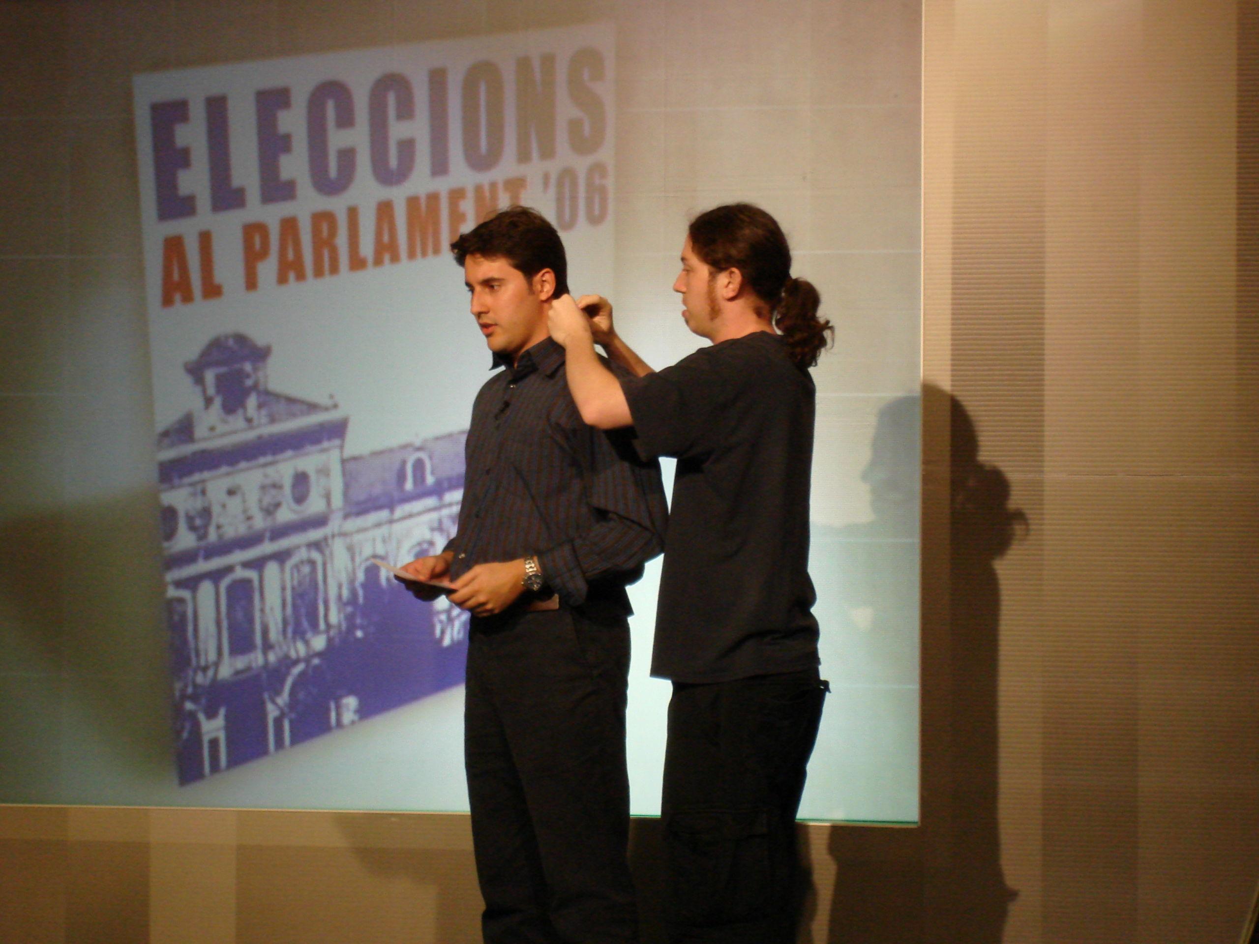 ELECCIONS CATALANES 2006 A 8TV