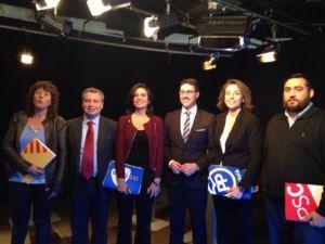 DEBAT ELECTORAL AMB ELS CANDIDATS AL CONGRÉS PER GIRONA (DESEMBRE 2015) thumb