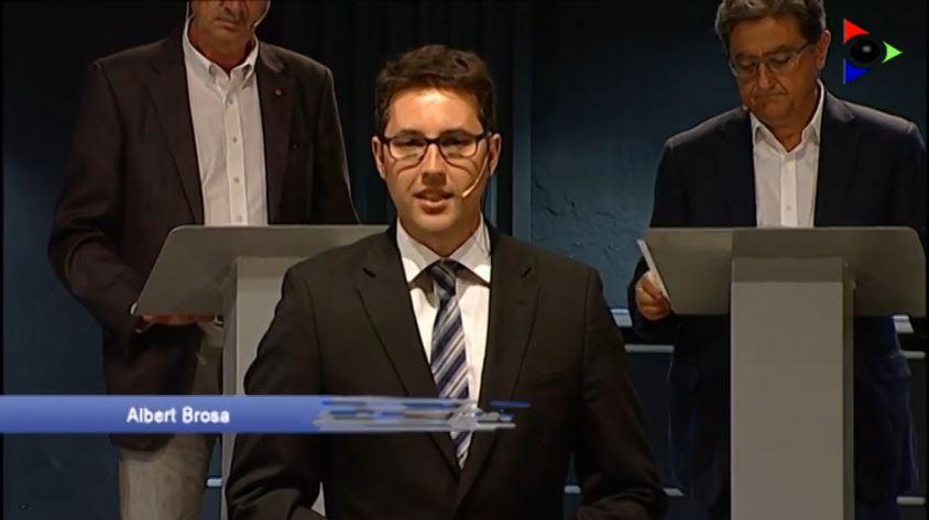 DEBAT ELECTORAL AMB ELS CANDIDATS LA PARLAMENT PER GIRONA (27-S)